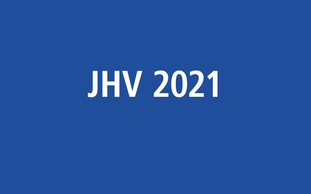 Jahreshauptversammlung 2021